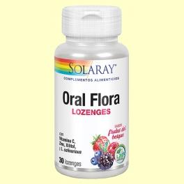 Oral Flora - Boca saludable - 30 comprimidos masticables - Solaray