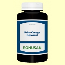 Prim-Omega (Liposan) - 80 cápsulas - Bonusan