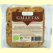Galleta de Espelta Multicereales Bio - 50 gramos - BioSpirit