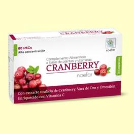 Cranberry - Vías Urinarias - 30 comprimidos - Noefar