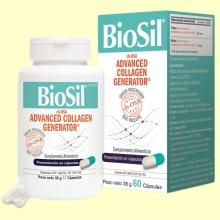 BioSil - 60 cápsulas - Para Piel, Cabello, Uñas, Articulaciones y Huesos
