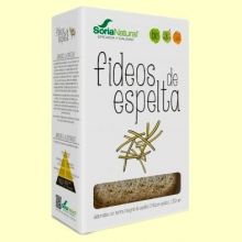 Fideos de Espelta Eco - 250 gramos - Soria Natural
