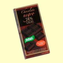 Chocolate Negro 74% Cacao sin Azúcares - 80 gramos - Santiveri