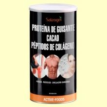 Colágeno con Proteína de Guisante y Cacao - 500 gramos - Salengei