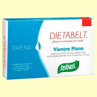 Dietabelt Vientre Plano Especial Mujer - 60 cápsulas - Santiveri