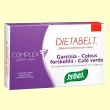 Dietabelt Garcinia + Coleus + Café Verde - 48 comprimidos - Santiveri