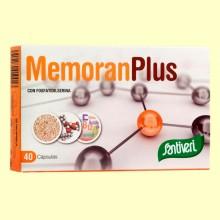 Memoran Plus - 40 cápsulas - Santiveri