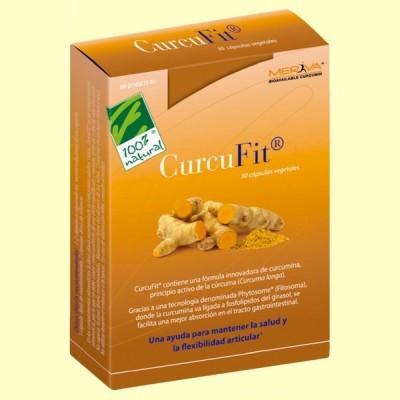 Curcufit - Flexibilidad Articular - 30 cápsulas - 100% Natural