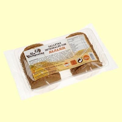 Galletas Integrales con Naranja - 190 gramos - la Campesina *