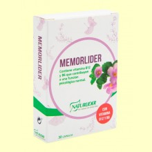 Memorlíder - Memoria - 30 cápsulas - Naturlider