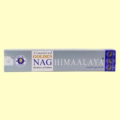 Incienso Golden Nag Himaalaya - 15 gramos - Vijayshree