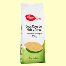 Cous Cous de Maíz y Arroz Bio - 500 gramos - El Granero