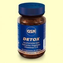 Detox - 60 comprimidos - GSN Laboratorios