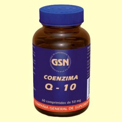 Coenzima Q10 - 60 comprimidos - GSN Laboratorios