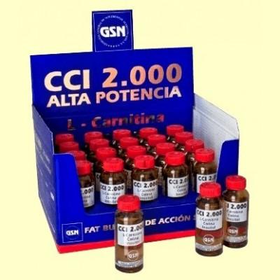 CCI 2000 - Quemador de Grasa - 20 viales - GSN Laboratorios