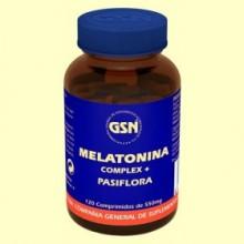 Melatonina Complex - 120 comprimidos - GSN Laboratorios