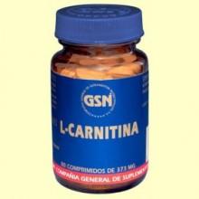 L-Carnitina - 80 comprimidos - GSN Laboratorios
