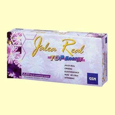 Jalea Real Top Energy - 20 viales - GSN Laboratorios