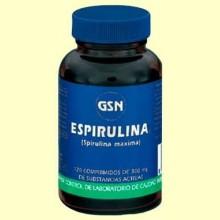 Espirulina - 120 comprimidos - GSN Laboratorios