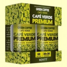 Café Verde Premium - 30 + 30 comprimidos - Novity