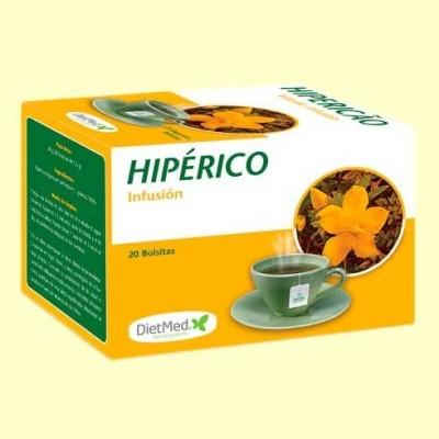 Hipérico Infusión - 20 bolsitas - DietMed