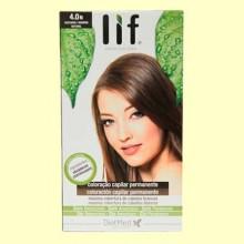 Tinte Cabello Lif Hair Colors 4.0 N - Marrón Natural - 1 kit - DietMed
