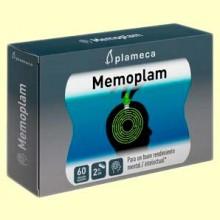Memoplam - Reforzar la memoria - 60 cápsulas - Plameca
