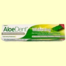 Aloe Dent - Dentífrico Blanqueador Aloe Vera - 100 ml - Optima