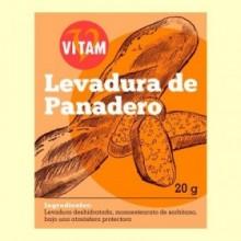 Levadura de Panadero - 20 gramos - Vitam