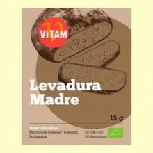 Levadura Madre Bio - 15 gramos - Vitam