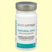 Natural DHA Alta Concentración - 20 perlas - Puro Omega
