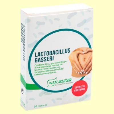 Gasseri Lactobacillus - 30 cápsulas - Naturlider