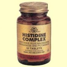 Histidina Complex Aminoácidos - Solgar - 30 comprimidos