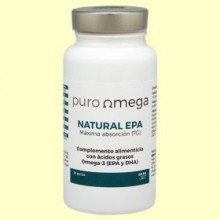 Natural EPA Máxima absorción - 30 perlas - Puro Omega