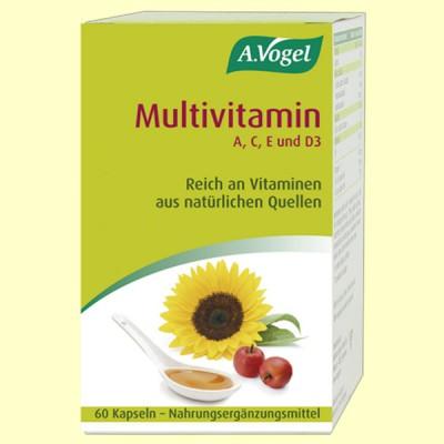 Multivitamin - 60 cápsulas polioléaceas - A. Vogel