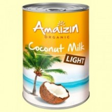 Leche de Coco Light Bio - 400 ml - Amaizin