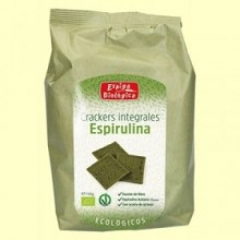 Crackers Integrales Espirulina Eco - 150 gramos - Espiga Biológica