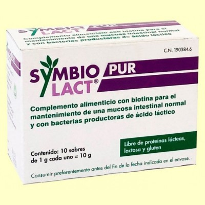 SymbioLact Pur - Sistema Digestivo - 10 sobres - Laboratorio Cobas