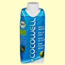 Cocowell Bio - Agua de Coco - 330 ml - 100% Natural