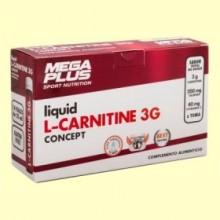 L-Carnitina Liquida Concept - 14 ampollas - Mega Plus