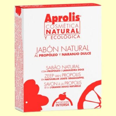 Jabón natural al propóleo - Aprolis Cosmética Biológica - Dietéticos Intersa - 100 ml.
