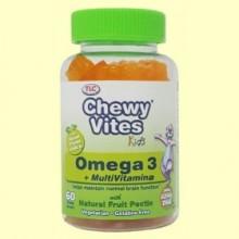 Chewy Vites Omega 3 Multivitamina - 60 gominolas - Chewy Vites