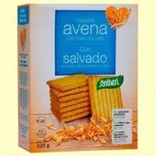 Galletas de Avena con Salvado - 520 gramos - Santiveri