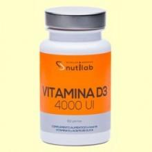 Vitamina D3 4000 UI - 60 perlas - Nutilab