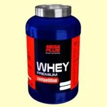 Whey Premium Competition Fresa - Crecimiento Muscular - 1 kg - Mega Plus