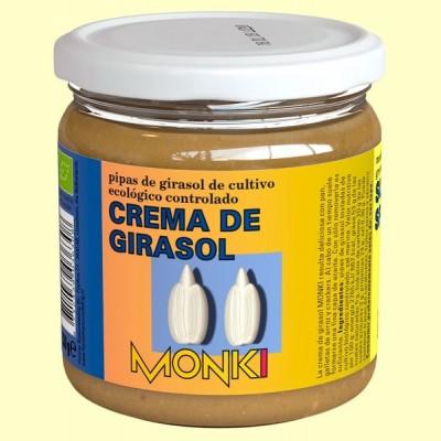 Crema de Girasol Bio - 330 gramos - Monki