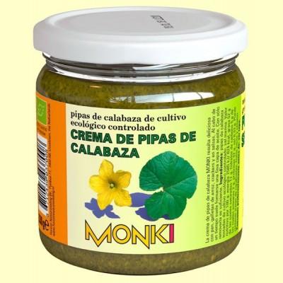 Crema de Semillas de Calabaza Bio - 330 gramos - Monki