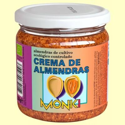 Crema de Almendras Bio - 330 gramos - Monki