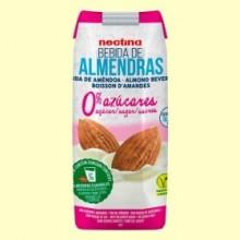 Bebida de Almendras 0% Azúcares - 330 ml - Nectina