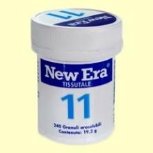 Sal de Schüssler Nº11 Dioxido de Silicio - 240 comprimidos - New Era